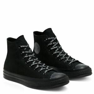 Converse Chuck Taylor 70 Hi Top GoreTex Utility Black Boot Sneakers 168857C Size
