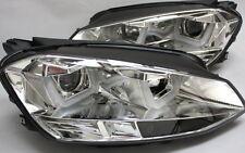 CROMO SET faros VW GOLF 7 VII LED barra-u Luz De Circulación Diurna TFL R87