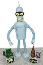 "Futurama BENDER 5.5"" Complete Action Figure Toynami 2008"