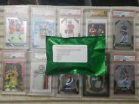 NFL Green Packs!!! 1 HIT Guarantee w/ graded card bonuses PSA BGS🔥 *READ*
