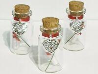 Personalised message in a bottle, Birthday, Wedding, Anniversary Gift, Keepsake