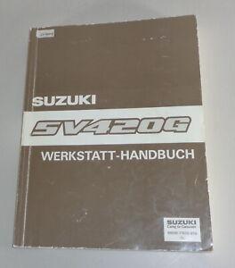 Manual de Taller Suplemento Suzuki Vitara SV420G Stand 02/1997