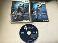 Resident Evil Nintendo Wii Edition Capcom Complete CIB Very Good Condition Clean