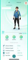 Pokemon account Go 🔥 Level 30 ✨ Starter ✨ No slashed pokemons ✨ Stardust
