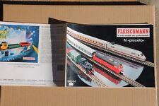 Catalogue FLEISCHMANN N Piccolo 1993/94 train locomotive vapeur DB SNCF SNCB FS