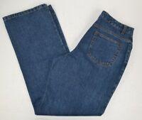 Bill Blass Women's Signature Fit Boot Cut Blue Jeans 8