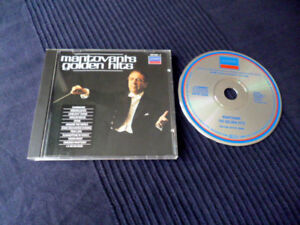 CD Mantovani & His Orchestra 12Golden Hits Best Of Greatest Hits W-Germany DECCA