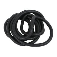 2X(20 Ft 1inch Split Wire Loom Conduit Polyethylene Tubing Black Color Z1X4)