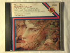 LORIN MAAZEL Strauss: Don Juan, Till eulenspiegel, Death and transfiguration cd