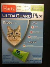 HARTZ Ultra Guard Plus Flea & Tick Drops For Cats & Kittens 5lbs & Over 3 Month