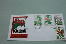 Kiribati 1981 FDC Islands Flora