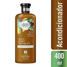 4 Paquet Herbal Essences Bio Renouvellement Lisse Après-shampoing Doré Moringa D