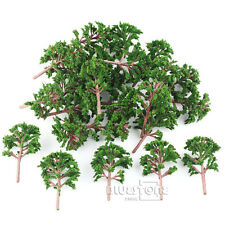 25pcs Model Banyan Trees Road Park War Game Scenery Layout 9cm OO 1 75 Scale