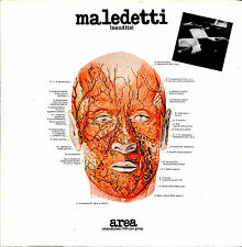 AREA maledetti CD foc cardboard Mini LP sleeve Akarma Italian Prog 1ST PRESS