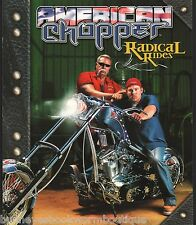 AMERICAN CHOPPER Radical Rides NEW Discovery BOOK Bikes ORANGE Motorcycles