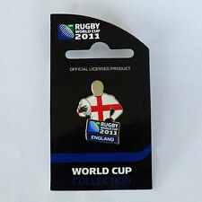 Rugby World Cup RWC 2011 England Player Pin