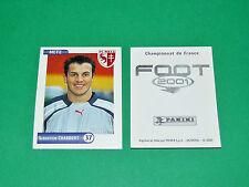 PANINI FOOT 2001 FRANCE FOOTBALL 2000-2001 CHABBERT FC METZ LORRAINE