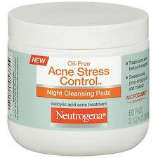 Neutrogena Acne Stress Control Night Cleansing Pad 60ct