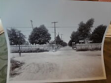 1911 121 St Crossing on Atlantic Avenue Spruce Street LIRR Rockaway NYC Photo
