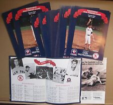1989 Equitable Old-Timers Game Fenway Park (Yaz Tribute) Lot Of Fifty (50)