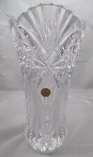 Cristal d'Arques Garanti Genuine 24% Lead Crystal Vase from France 11 3/4""
