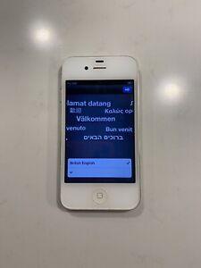 Apple iPhone 4 - 16GB - White (Unlocked) A1332 (GSM)