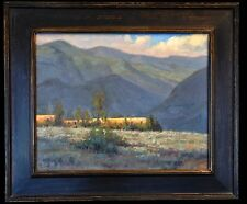 "Original Oil Painting on Board by Bob Rohm, ""Afternoon Shadows"" 16""x20"""
