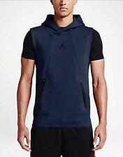 Nike Air Jordan Lite Sleeveless Fleece Midnight Navy 724787-410 sz Small