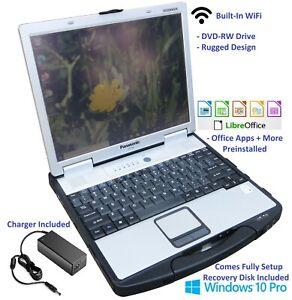 """Panasonic Toughbook CF-74E Mk2 13"""" Rugged Laptop 2GHz Intel Core Duo 500GB SSHD"""