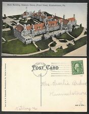 1914 Pennsylvania Postcard - Elizabethtown - Main Building Masonic Home, Mason