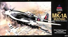 Accurate Miniatures 1:48 RAF MK-1A Mustang 20mm Recon Fighter Plastic Kit #3410U