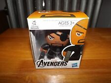 "THE AVENGERS MINI MUGGS, NICK FURY 3"" FIGURE, NIB, 2011"