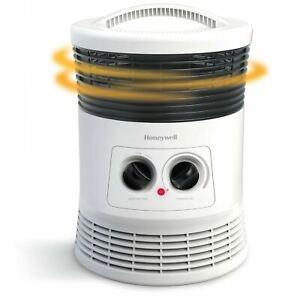 "Honeywell 360 Surround Fan-Forced Heater 8x8x11"" White HHF360W Efficient"