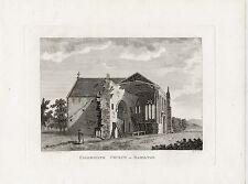 1797 Print Hamilton Church, Lanarkshire, Scotland