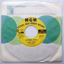JOANI CAMP teen popcorn PROMO 45 something special I'm gonna try STRONG VG F908