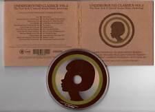 "UNDERGROUND CLASSICS ""Vol.2"" (CD Digipack) Chandler,Bobien,Osunlade 2005"