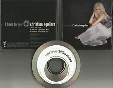 CHRISTINA AGUILERA I turn to you w/ 2 RARE RADIO EDIT PROMO DJ CD single 2000