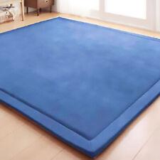 00006000 Baby Play Mat Crawling Rug Coral Fleece Blanket 2cm Thick Carpet Foam 6.5'x5.9'
