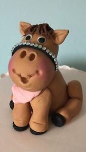 EDIBLE PONY/HORSE CAKE TOPPER DECORATION BIRTHDAY CAKES
