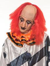 Halloween Scary Clown Killer Costume IT Wig RedH0528R