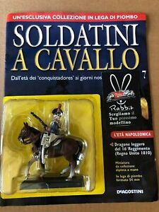 """ Dragon Of 16° Reggimento Kingdom British 1810 "" Toy Soldiers A Horse"