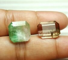 17 cts Beautiful Natural  Bicolor  TOURMALINE @ Afghanistan WOW!