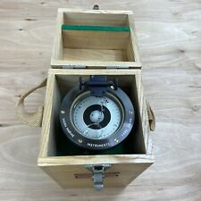 Vintage Hand Bearing Compass Trp Hb65 Saura Keiki Seisakusho Co. Japan, In Box