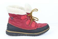 Sorel Womens Cozy Carnival Faux Sherpa Hiking Winter Casual Boots Booties Sz 9.5