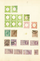 Italy Stamps 26x Revenue Mint/Used w/ many Proofs/Essay