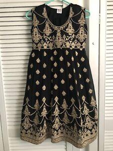 Girls Pakistani / Indian Salwar Kameez Dress 3 Piece Size 34 Age 9-10 Years