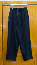 Comme Des Garcons Homme Wide Wool Pants With Elastic Waist AD1993