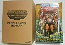 Rebel Leader He-Man Masters of the Universe Classics Stout Collection MOTUC MIB