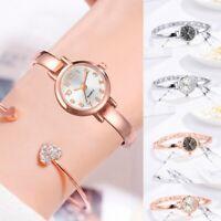 Luxury Ladies Women Girls Alloy Belt Quartz Wrist Watch Numeral Round Dial Watch
