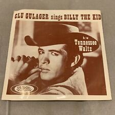 """Clu Gulager """"Billy The Kid"""" RARE 1964 7"""" 45 PIC SLEEVE MINT!"""